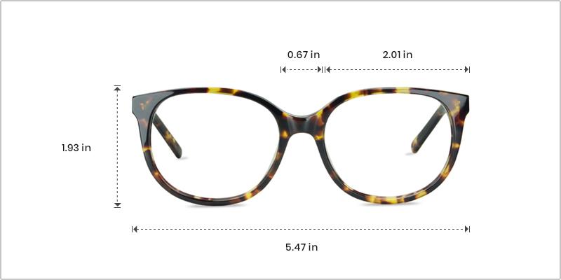 Frame measurement explained