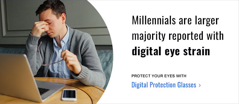 millennial digital eye strain