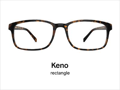 Keno Ractangle Glasses Frame