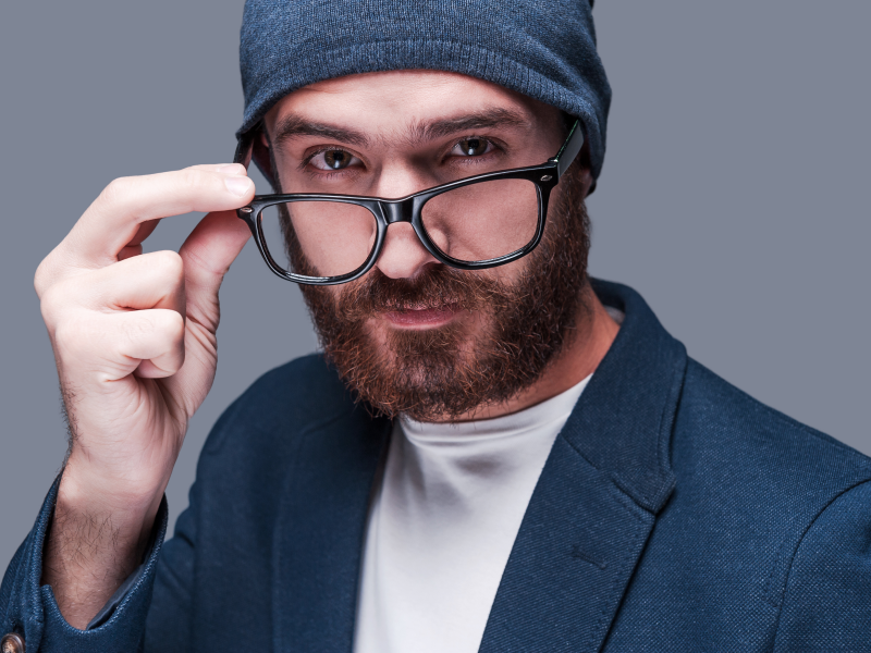 Simple hacks to keep glasses from slipping